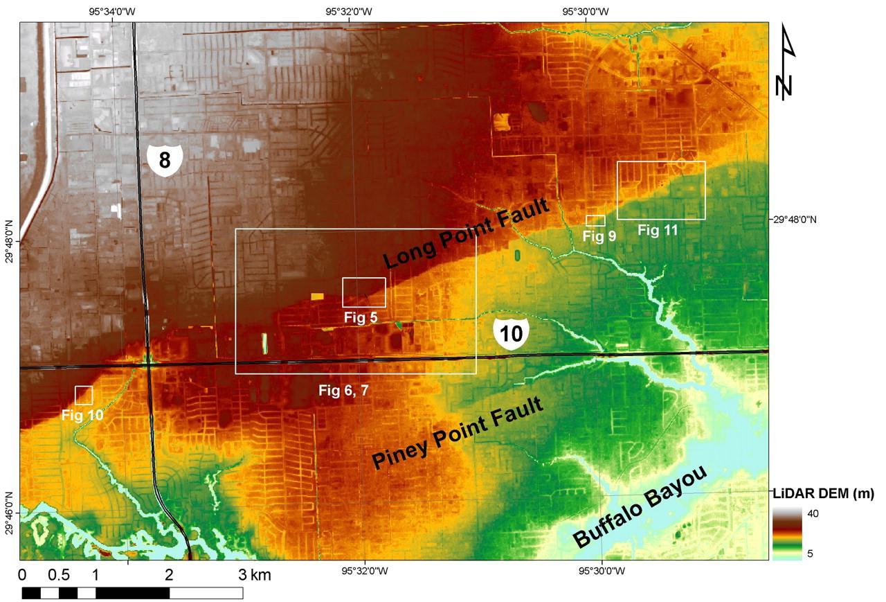 Houston Tx Elevation Map Houston elevation map   Houston tx elevation map (Texas   USA)