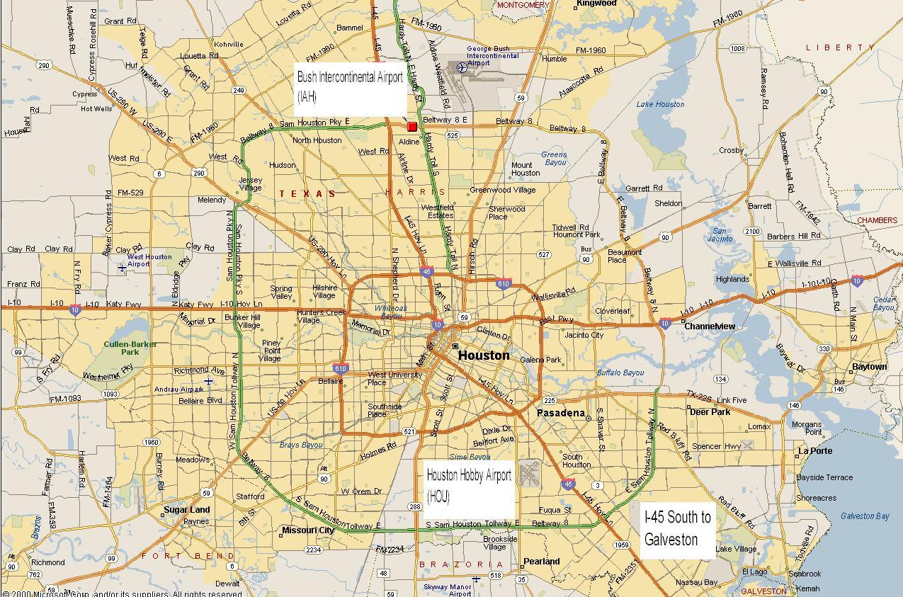 Map Of Houston Metro Rail Streetwise Houston Map Laminated City