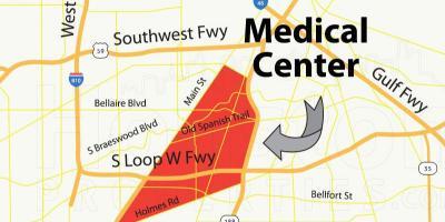 Medical Center Houston Map.Houston Map Maps Houston Texas Usa