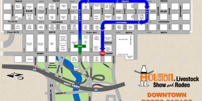 Houston map - Maps Houston (Texas - USA) on